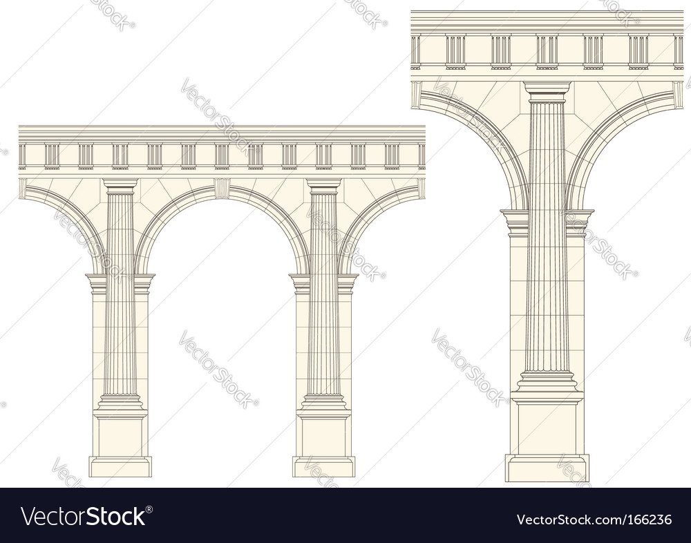 Set of architecture detail vector | Price: 1 Credit (USD $1)