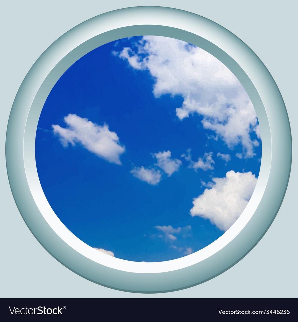 Side window vector | Price: 1 Credit (USD $1)