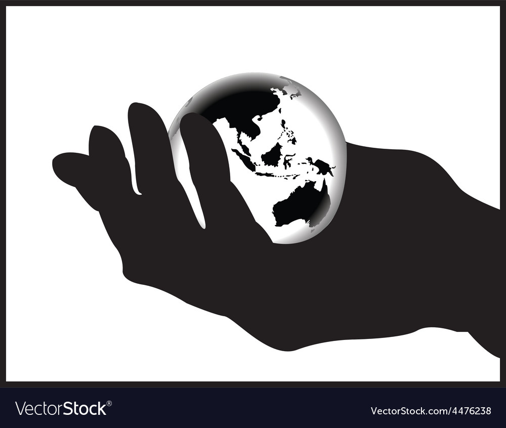 Cartoon hand vector | Price: 1 Credit (USD $1)