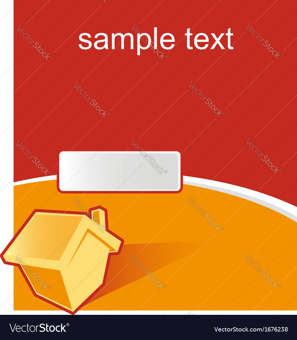 House real estate background vector   Price: 1 Credit (USD $1)