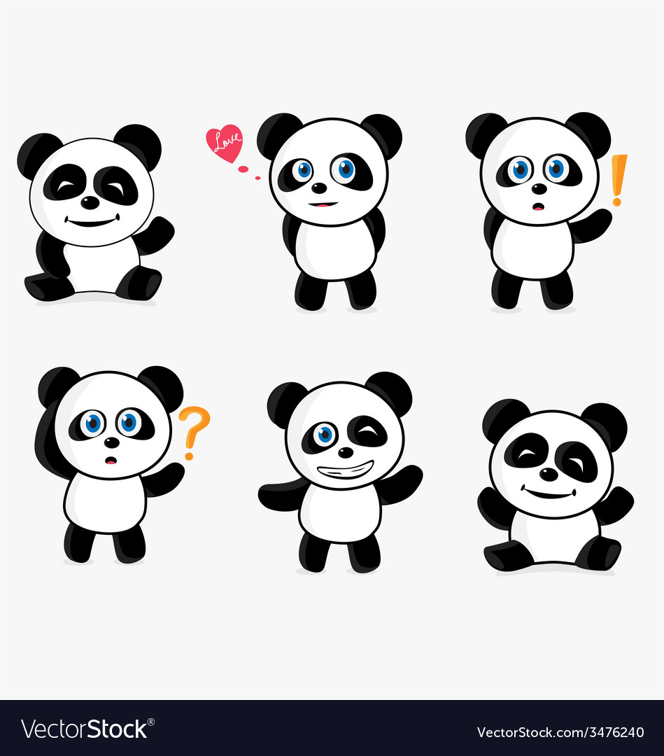 Cute panda mascot vector   Price: 1 Credit (USD $1)