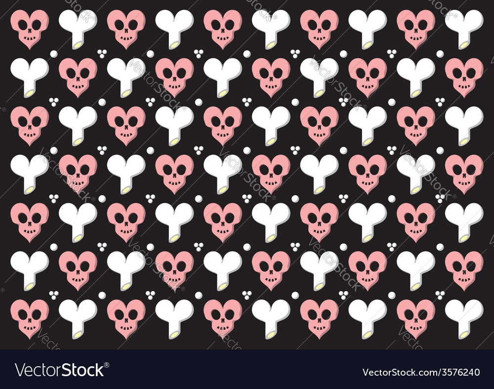 Emo gothic valentine wrapper vector | Price: 1 Credit (USD $1)
