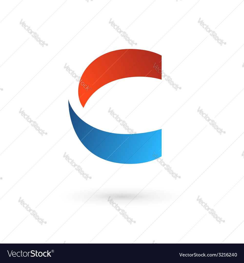Letter c logo icon design template elements vector | Price: 1 Credit (USD $1)