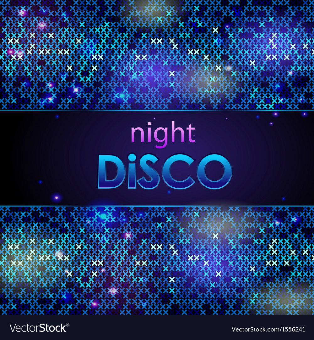 Abstract disco background vector | Price: 1 Credit (USD $1)