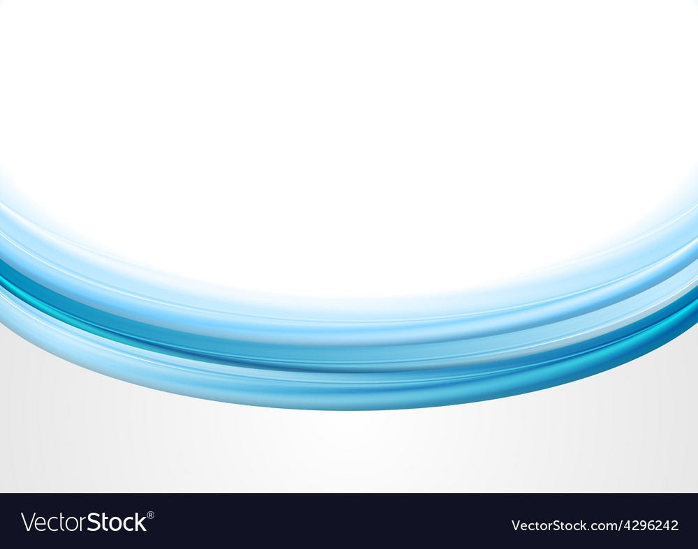 Abstract blue wavy background vector   Price: 1 Credit (USD $1)