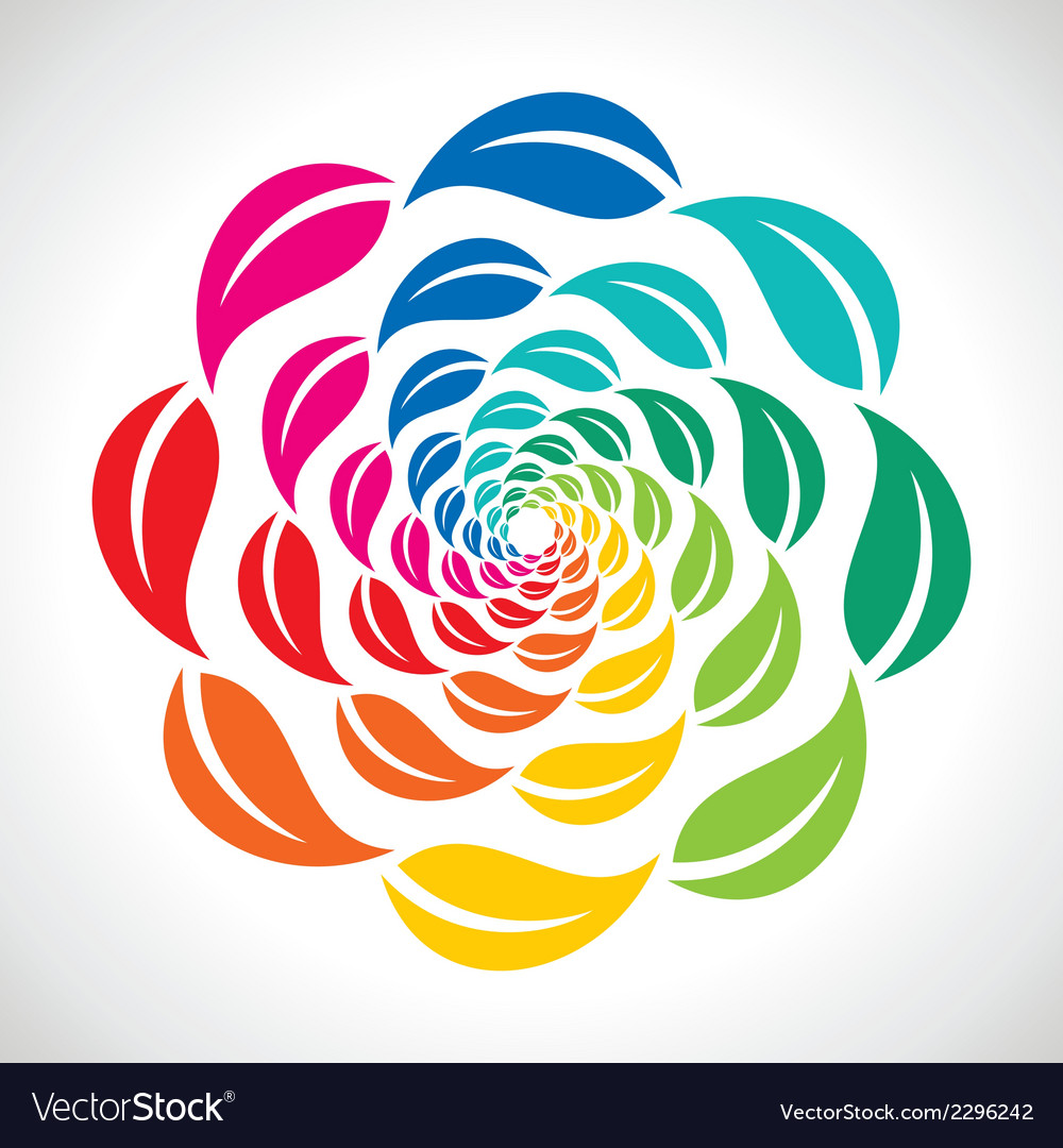 Colorful leaf icon design vector   Price: 1 Credit (USD $1)