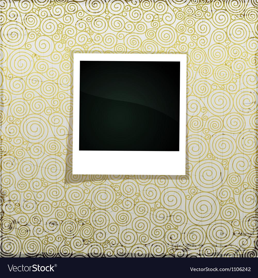 Golden grunge banner vector   Price: 1 Credit (USD $1)