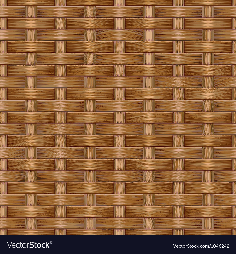 Wooden basket weaving vector | Price: 1 Credit (USD $1)