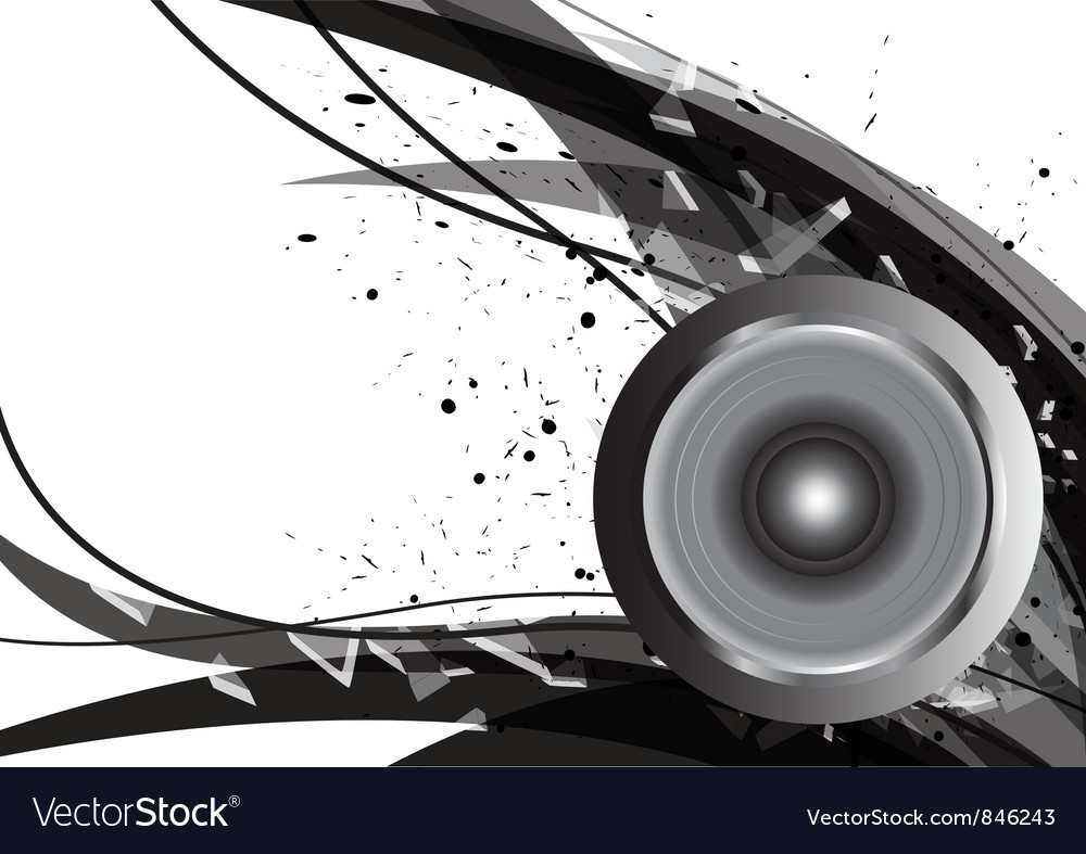 Abstract design music vector | Price: 1 Credit (USD $1)