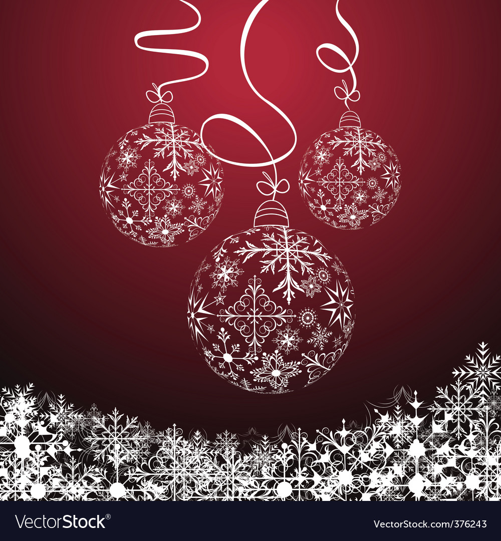 Christmas composition vector | Price: 1 Credit (USD $1)