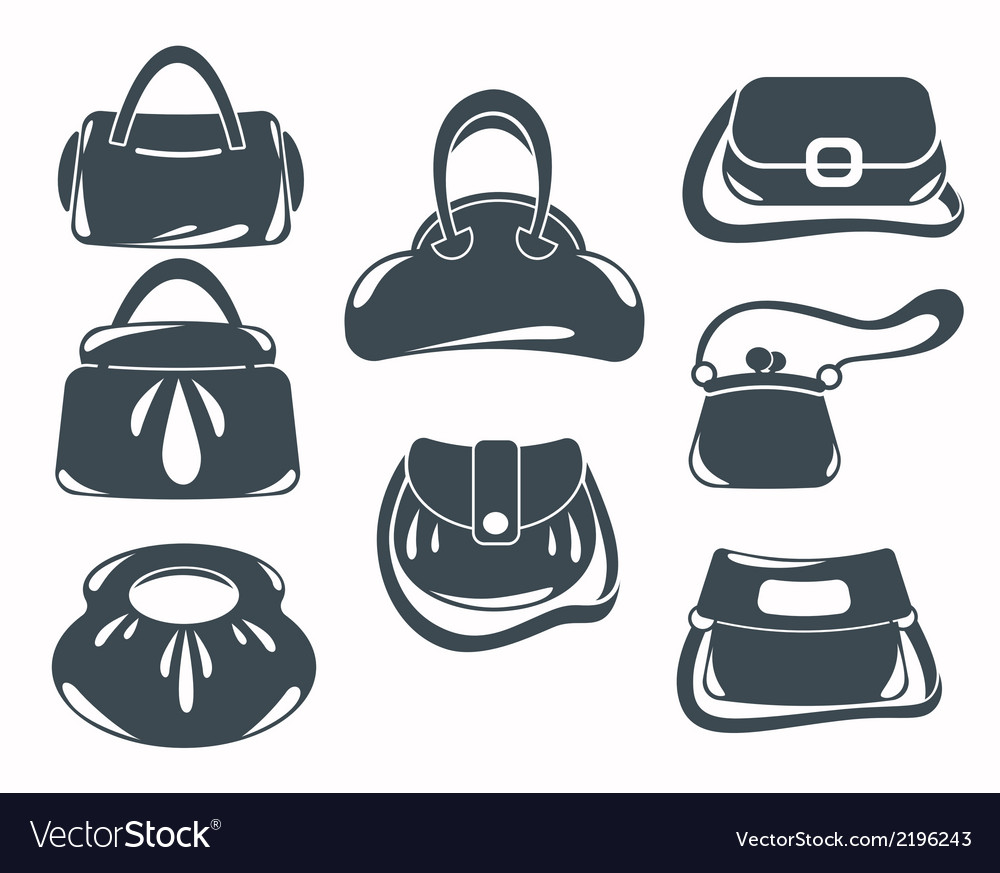 Fashion bags collection vector | Price: 1 Credit (USD $1)