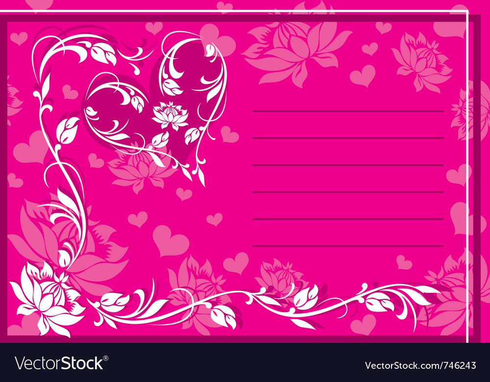 Ornament valentine vector | Price: 1 Credit (USD $1)