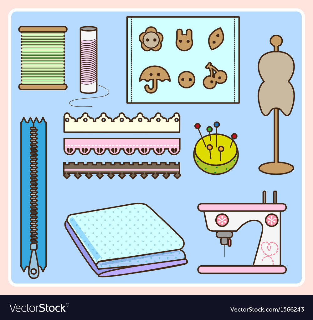 Sew tool vector | Price: 1 Credit (USD $1)