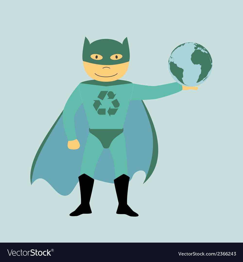 Superhero 2 vector | Price: 1 Credit (USD $1)