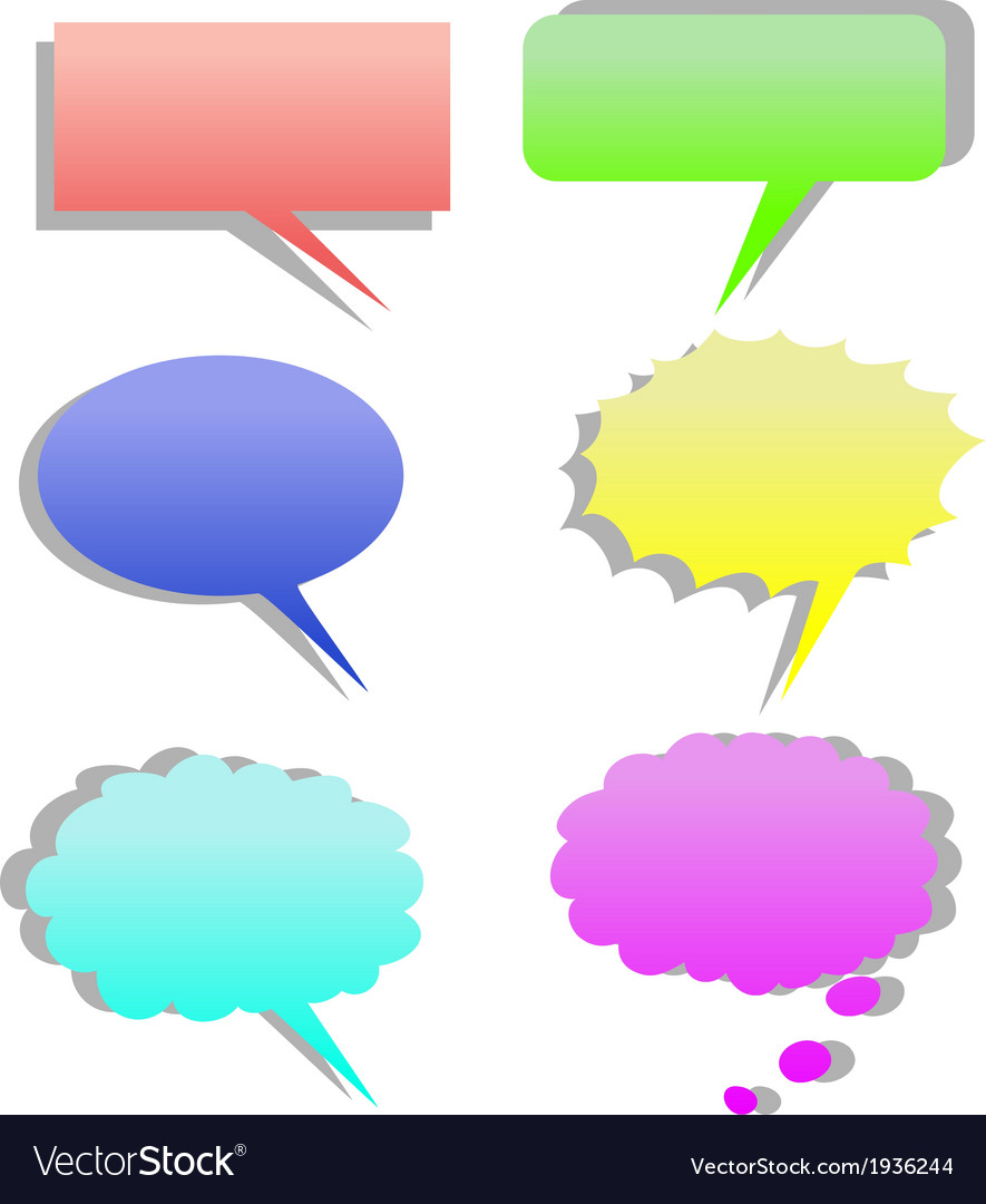 Dialog cartoon vector | Price: 1 Credit (USD $1)