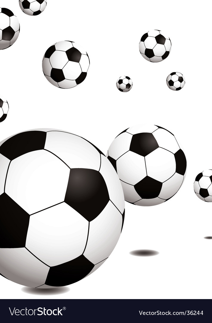 Football bounce vector | Price: 1 Credit (USD $1)