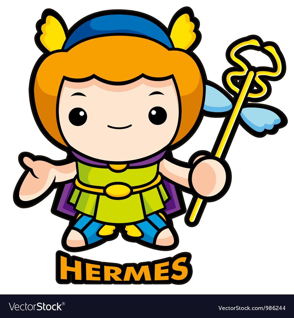 The god of strangers hermes vector | Price: 1 Credit (USD $1)