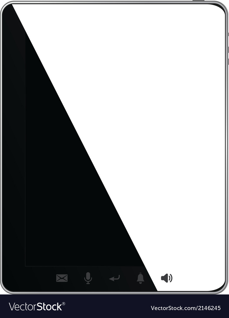 Black pad vector | Price: 1 Credit (USD $1)