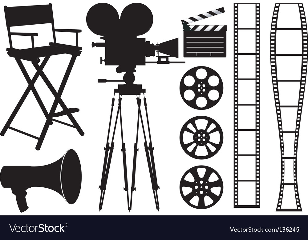 Film industry vector | Price: 1 Credit (USD $1)