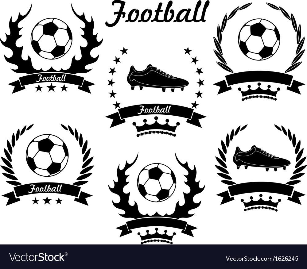 Football vector | Price: 1 Credit (USD $1)