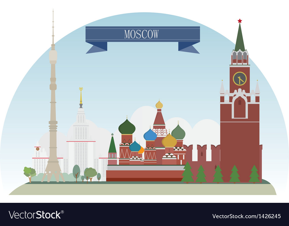 Moscow vector | Price: 3 Credit (USD $3)