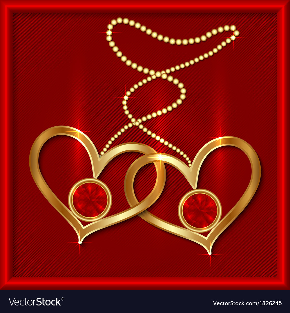 Saint valentine greeting card vector | Price: 1 Credit (USD $1)
