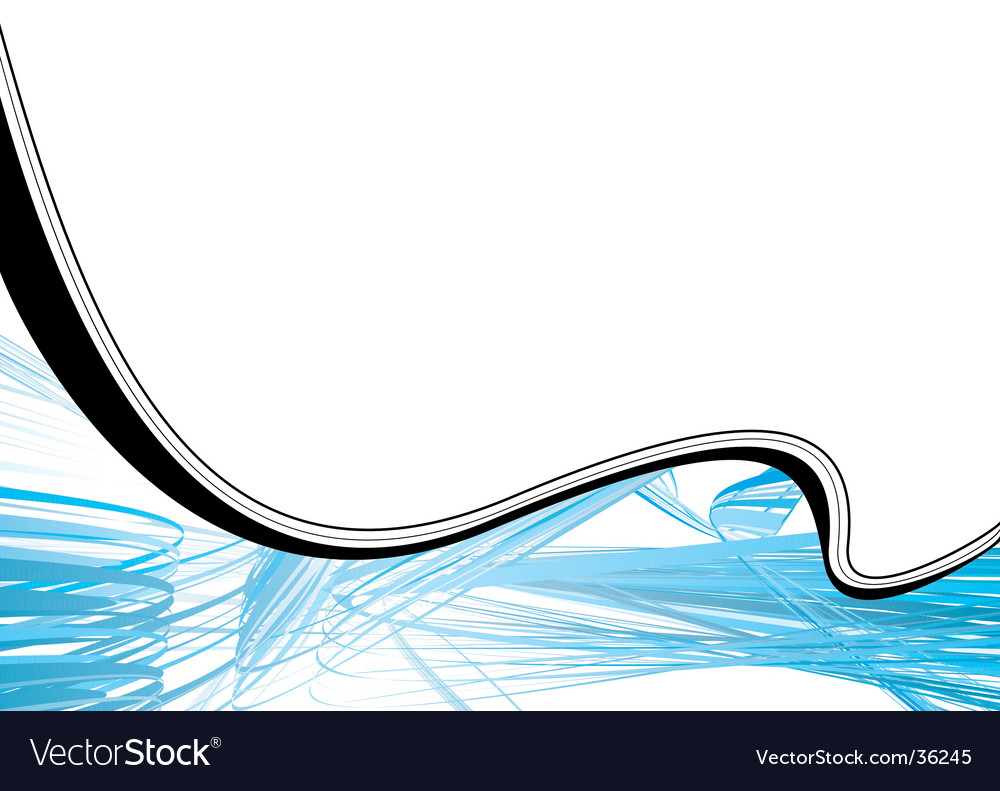 Scribble wave vector | Price: 1 Credit (USD $1)