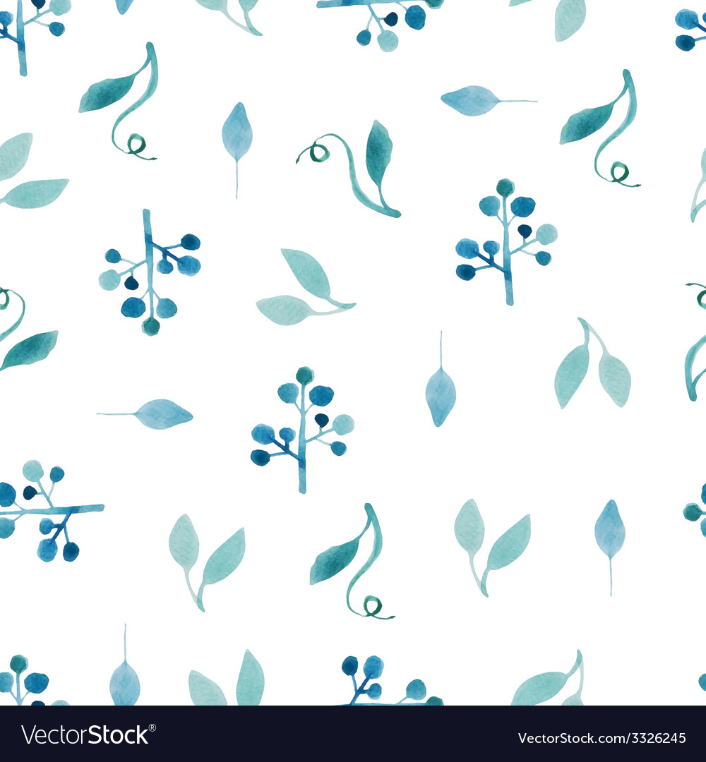 Watercolor pattern vector   Price: 1 Credit (USD $1)