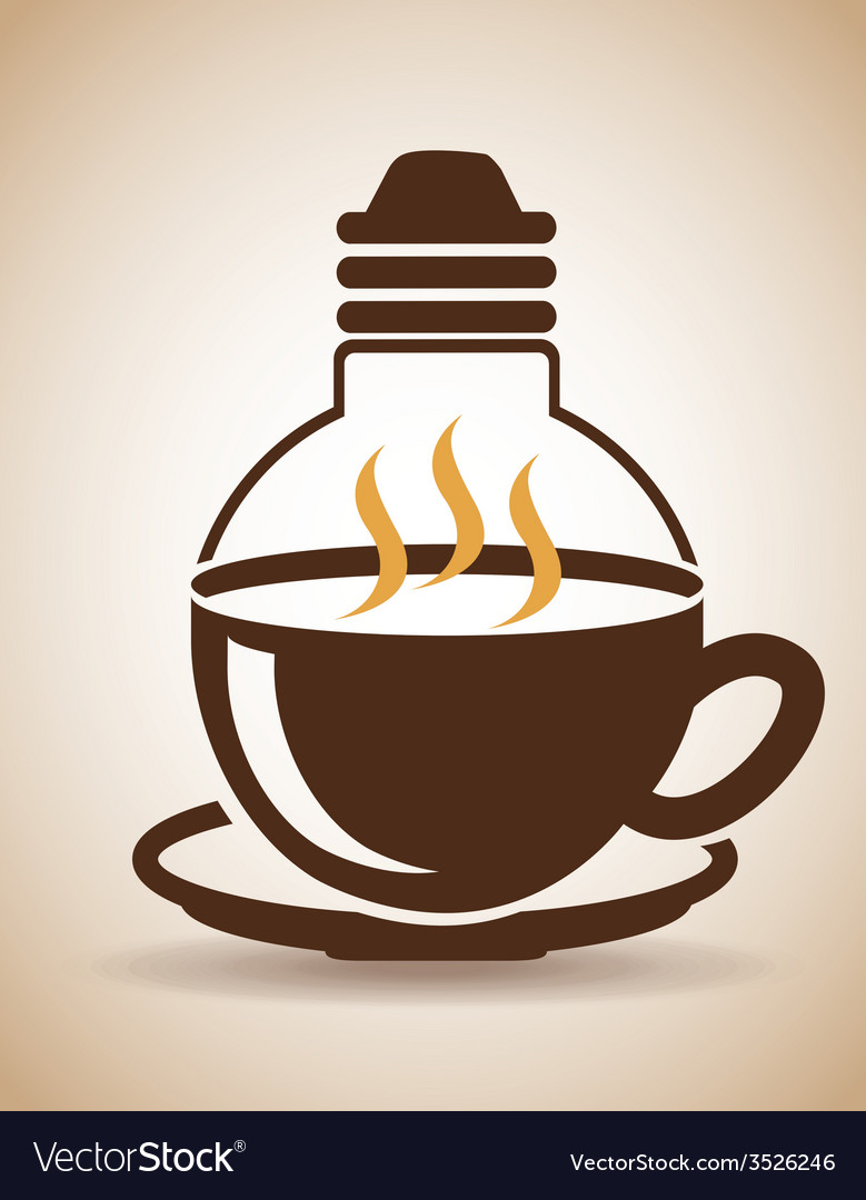 Coffee time design vector | Price: 1 Credit (USD $1)