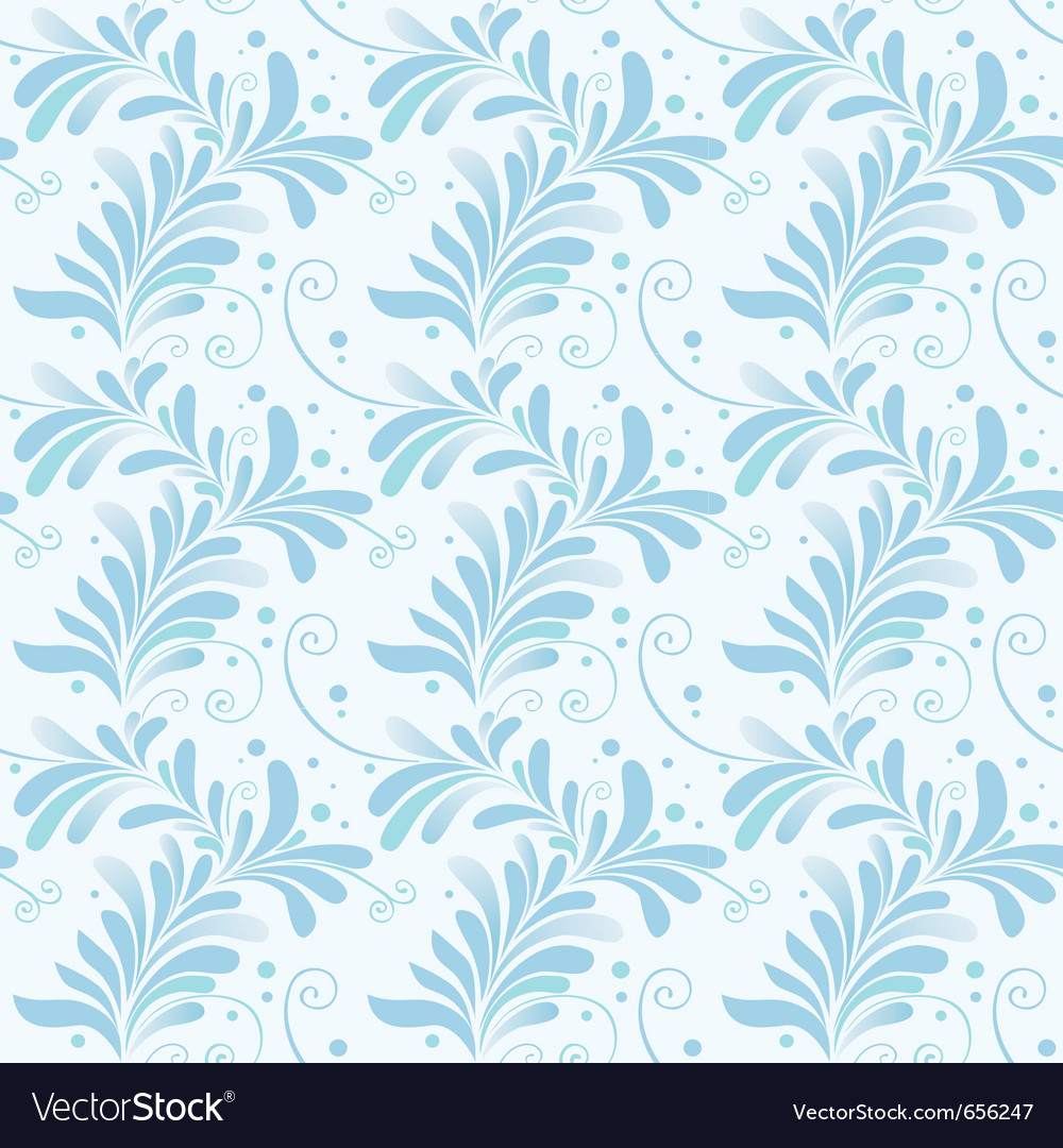 Winter floral texture vector | Price: 1 Credit (USD $1)