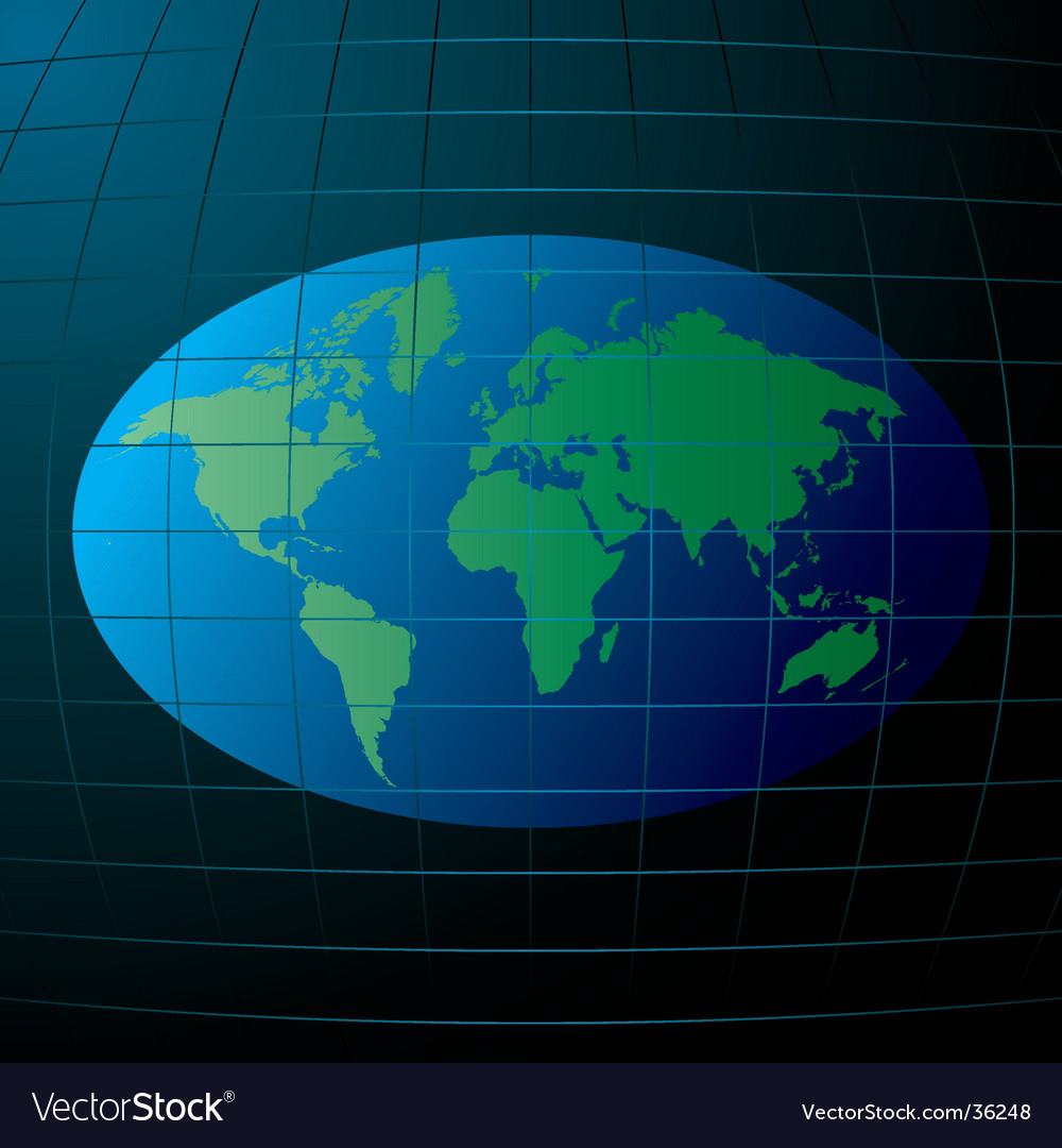 Flat earth vector | Price: 1 Credit (USD $1)