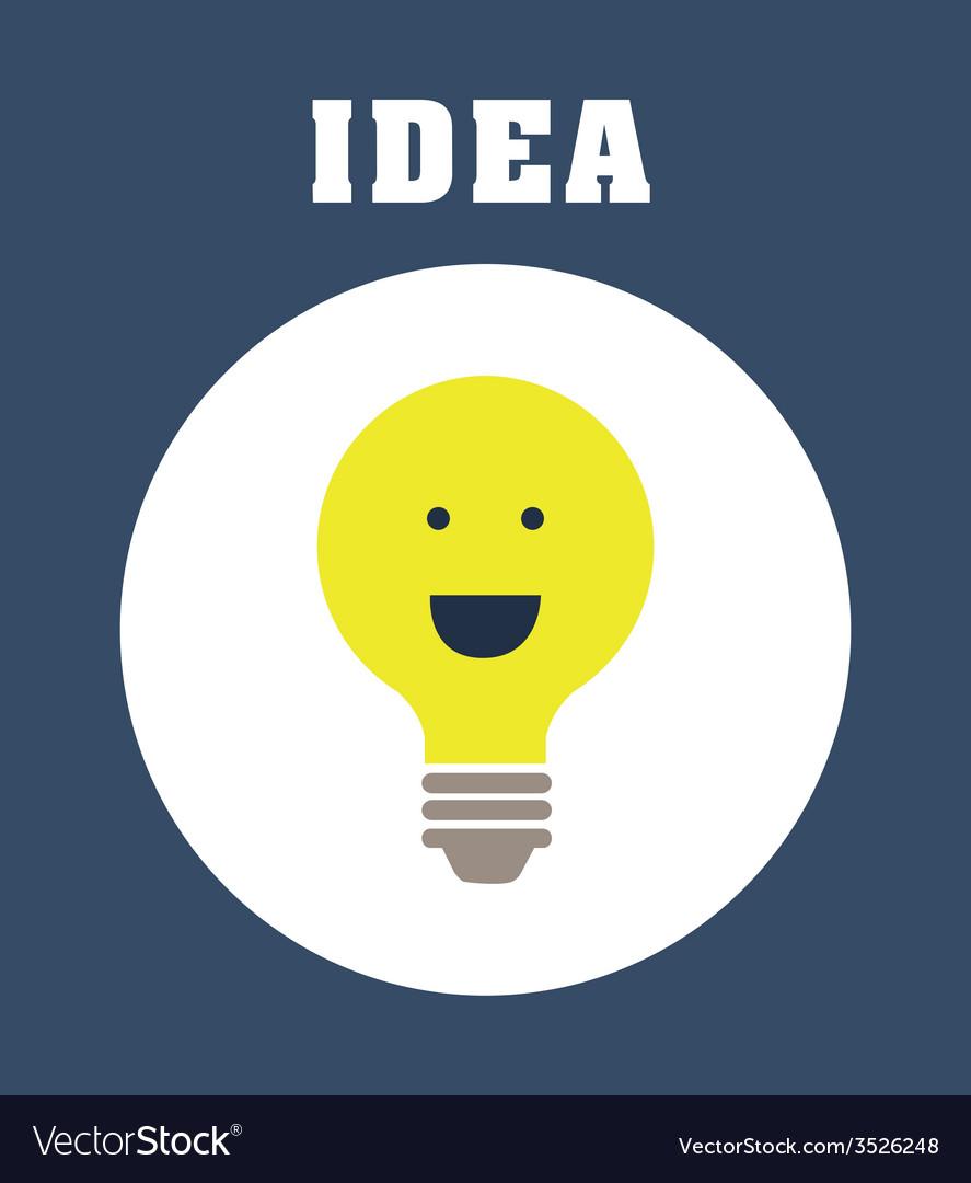 Great idea design vector | Price: 1 Credit (USD $1)