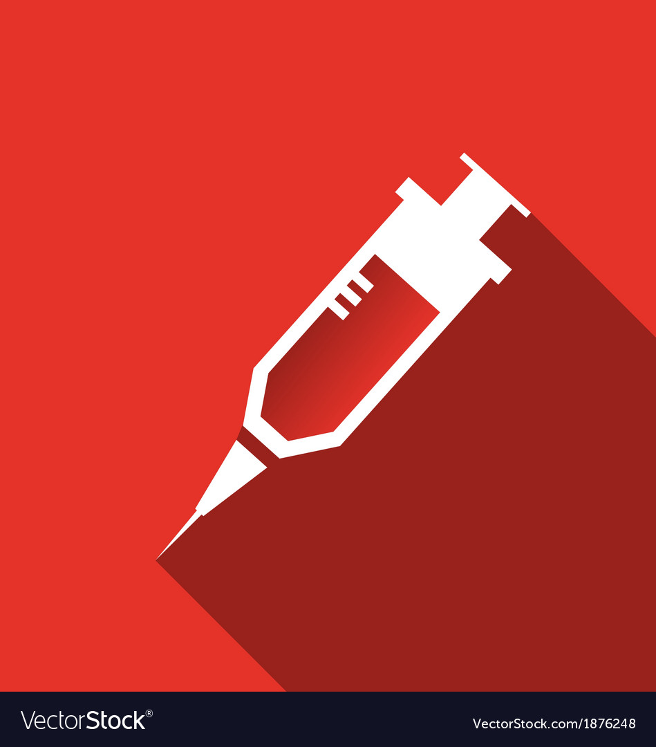 Hypodermic needle icon vector | Price: 1 Credit (USD $1)