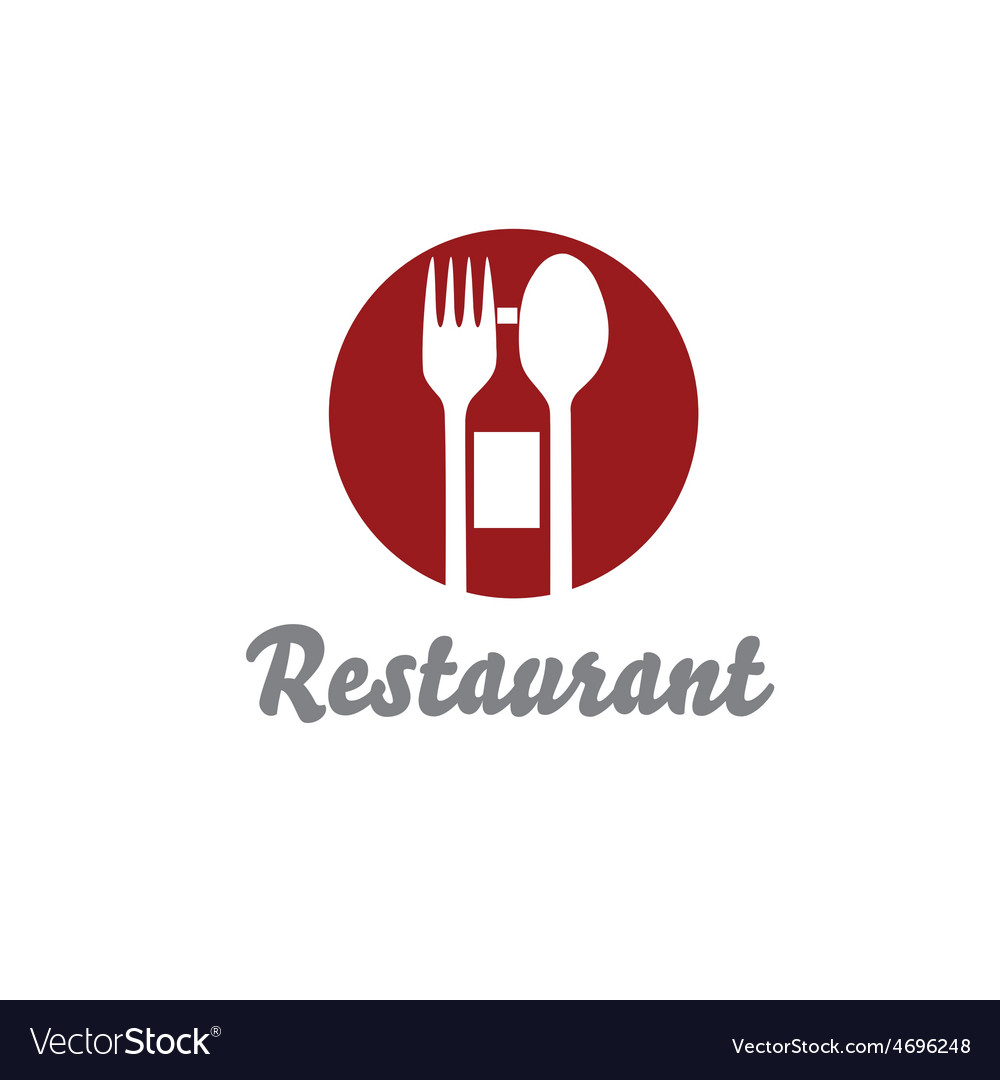 Restaurant design template vector | Price: 1 Credit (USD $1)