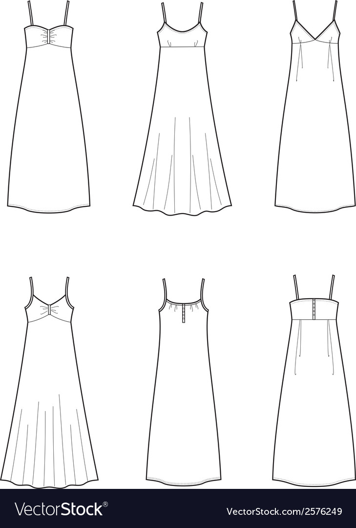 Dress vector | Price: 1 Credit (USD $1)