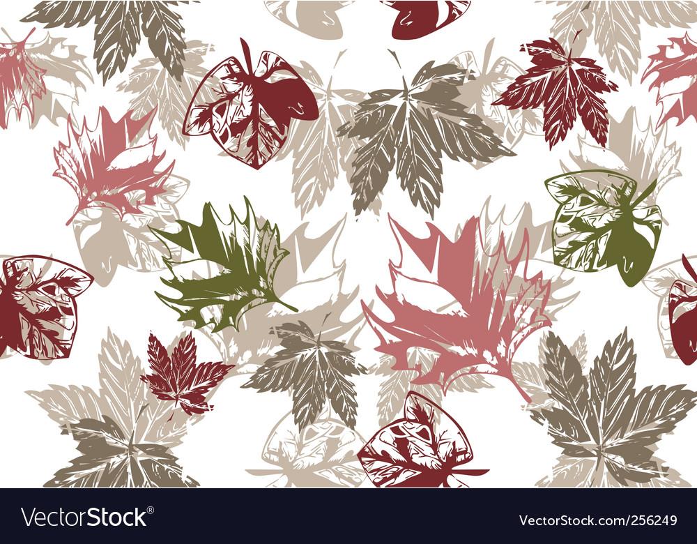 Grunge autumn background vector | Price: 1 Credit (USD $1)