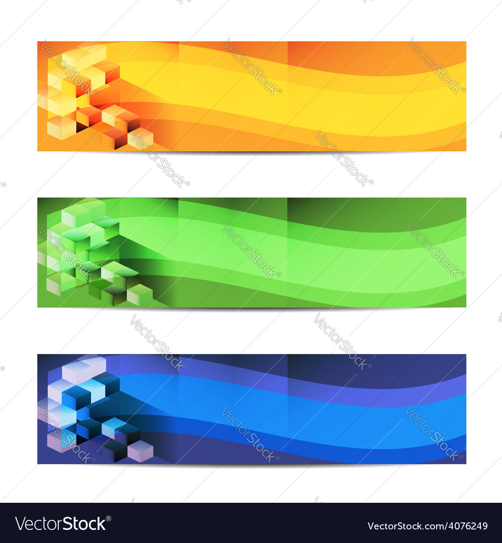 Horizontal banner 234 x 60 eps 10 vector | Price: 1 Credit (USD $1)