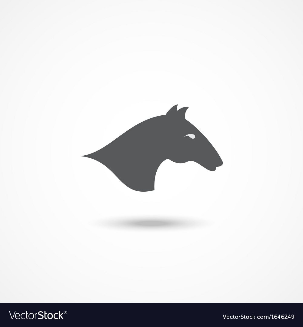 Horse icon vector   Price: 1 Credit (USD $1)