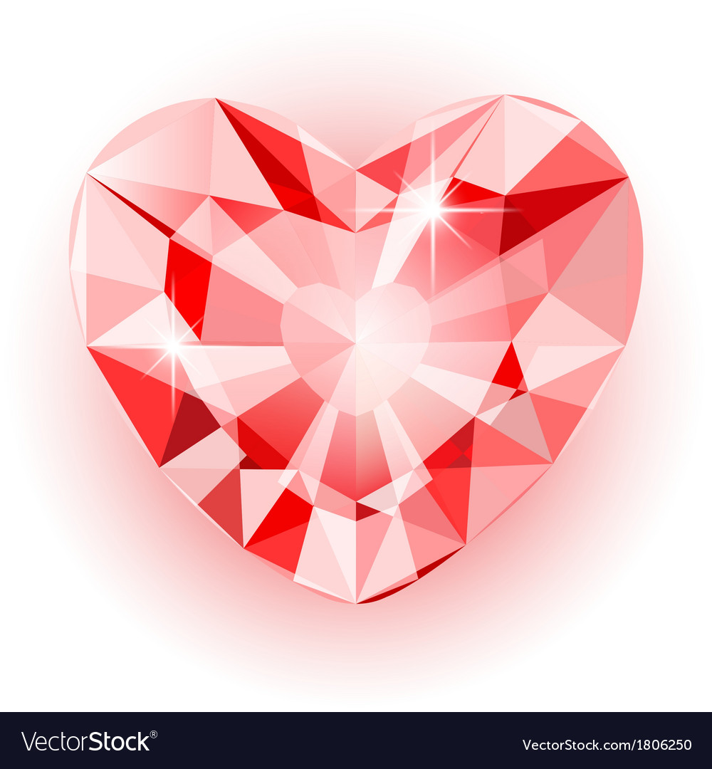 Diamond heart final vector | Price: 1 Credit (USD $1)