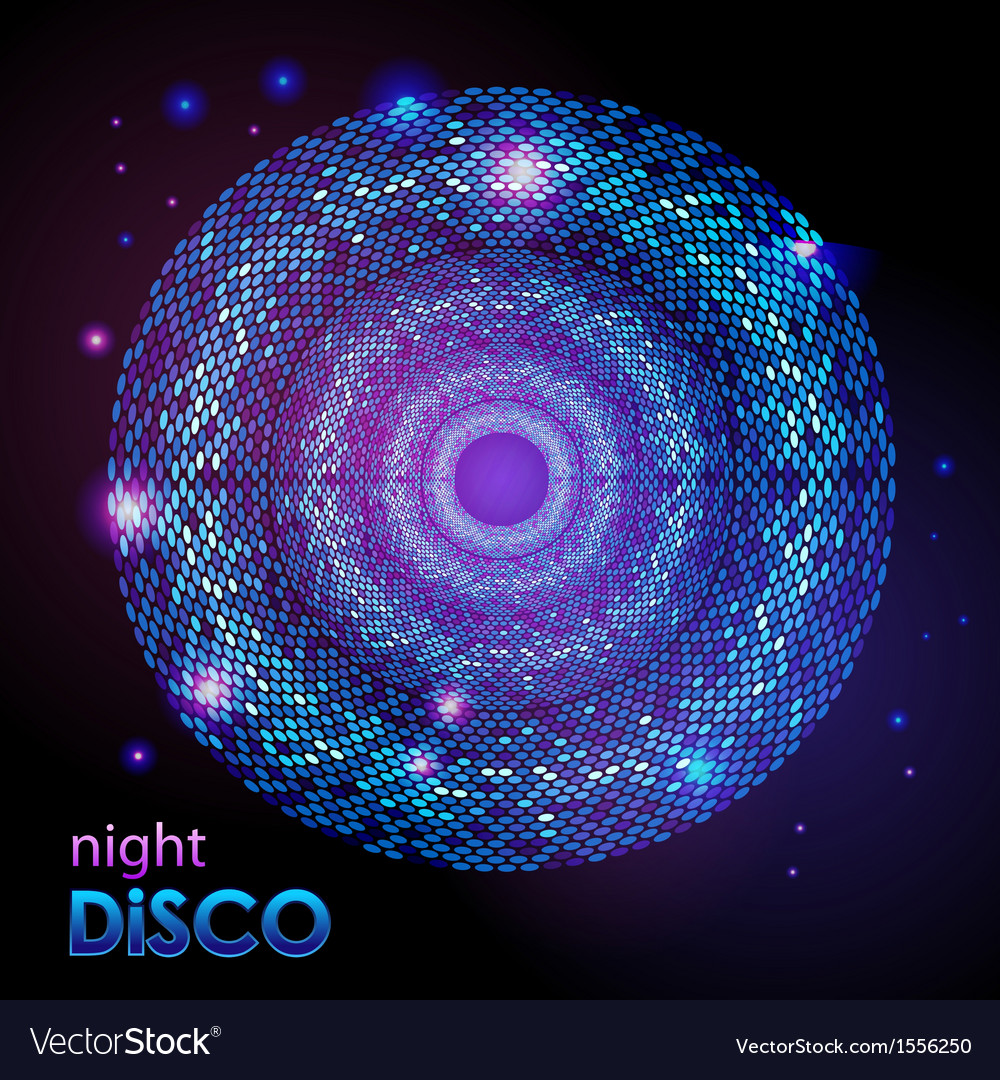 Disco abstract background vector | Price: 1 Credit (USD $1)