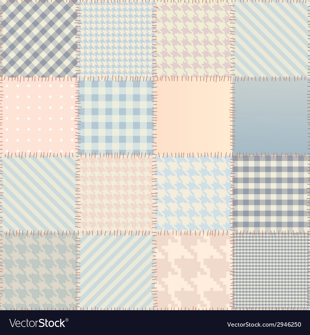 Quilting design background vector | Price: 1 Credit (USD $1)
