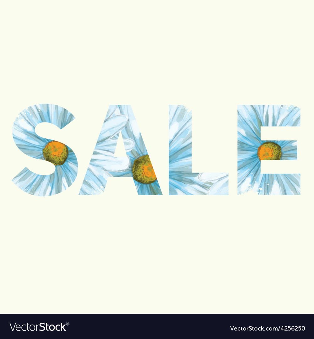 Sale poster vector | Price: 1 Credit (USD $1)