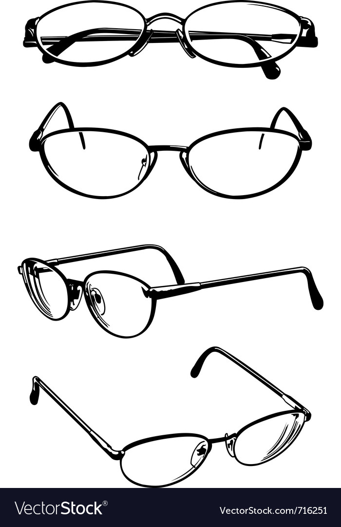 Eye glasses vector | Price: 1 Credit (USD $1)