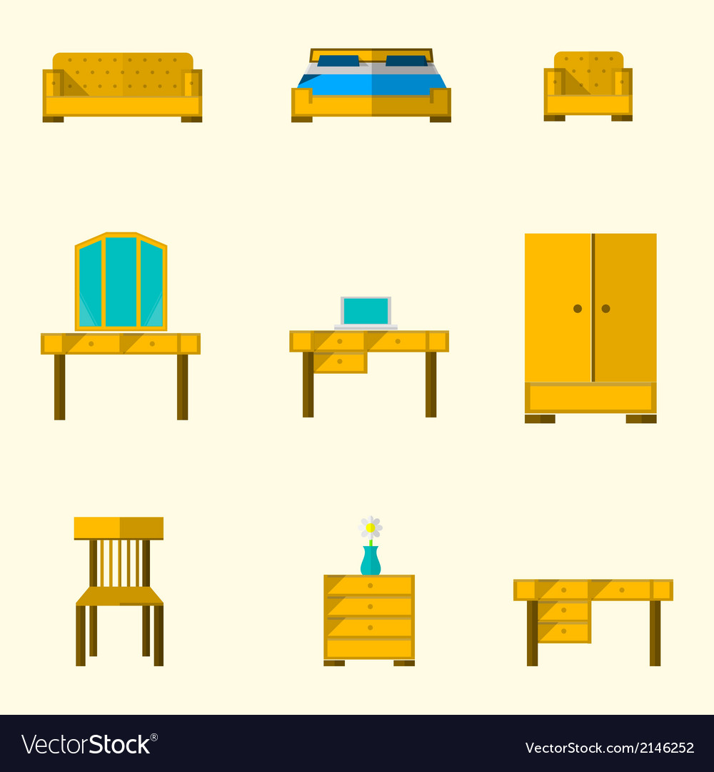 Icon for furniture vector | Price: 1 Credit (USD $1)