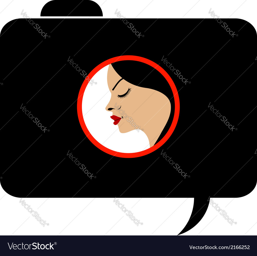 Model photo shoot- photography logo vector | Price: 1 Credit (USD $1)