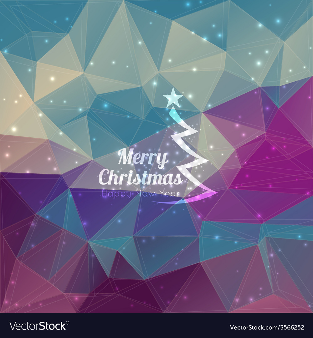 Modern winter abstract background vector | Price: 1 Credit (USD $1)