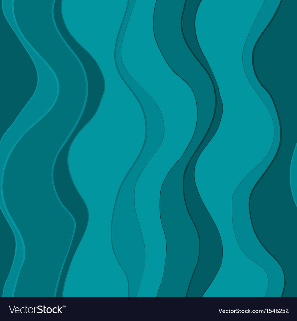 Wavy blue lines seamless vector | Price: 1 Credit (USD $1)