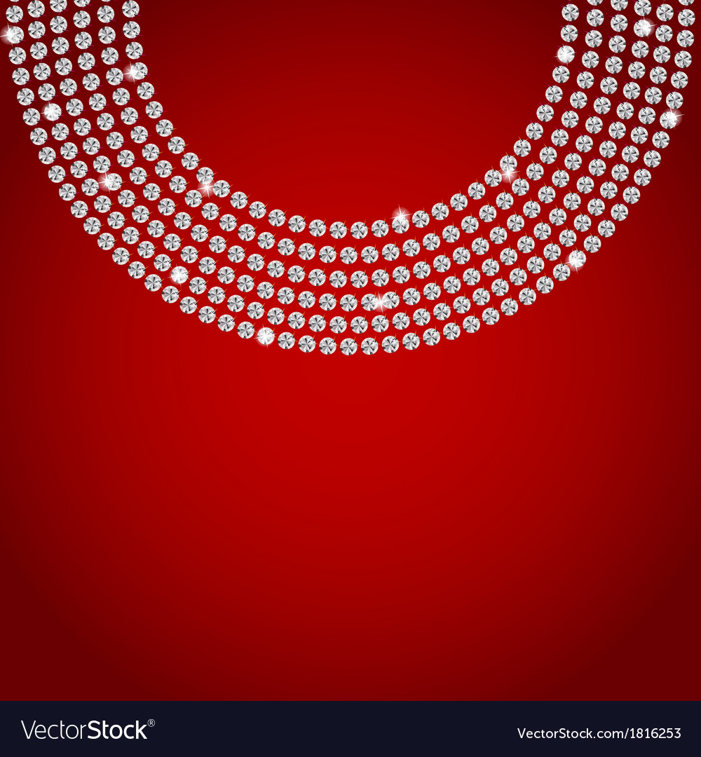 Abstract beautiful diamond background vector | Price: 1 Credit (USD $1)