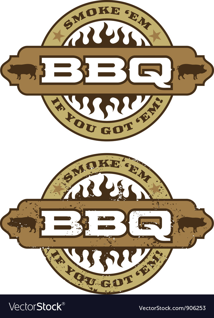 Barbecue design element vector | Price: 1 Credit (USD $1)