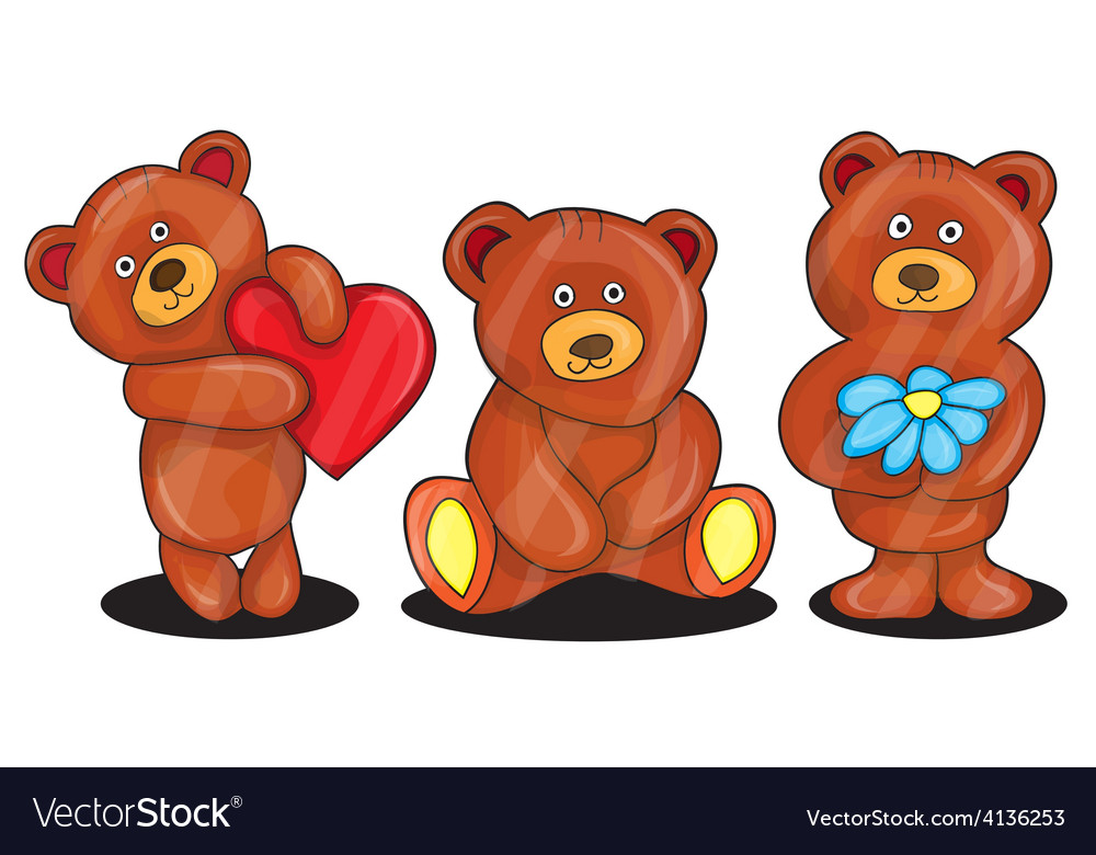 Bears vector | Price: 1 Credit (USD $1)